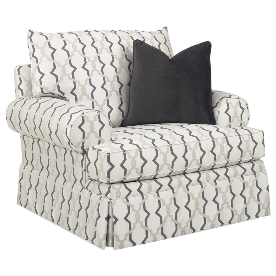Personal Design Series Townsend Swivel Chair by Lexington at Baer's Furniture