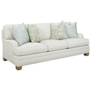 Townsend Customizable Sofa (English Arms, Boxed Edge Back, Medium Tapered Leg)