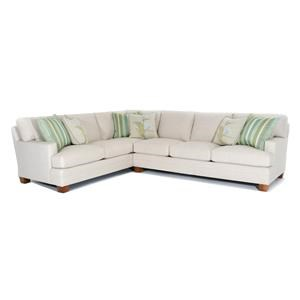 Townsend Two Piece Customizable Sectional