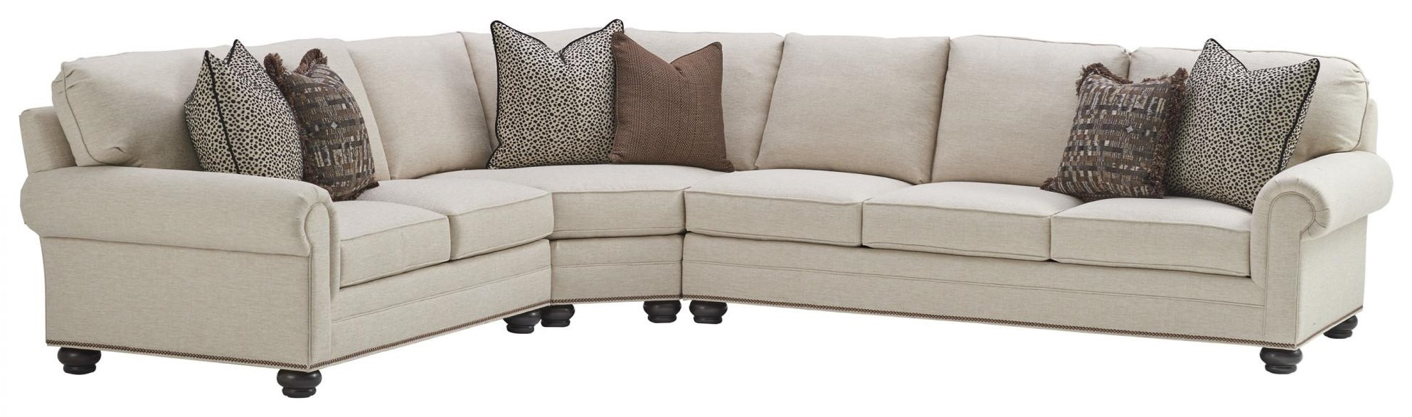 Personal Design Series Customizable Bedford 2 Pc Sectional Sofa by Lexington at Johnny Janosik