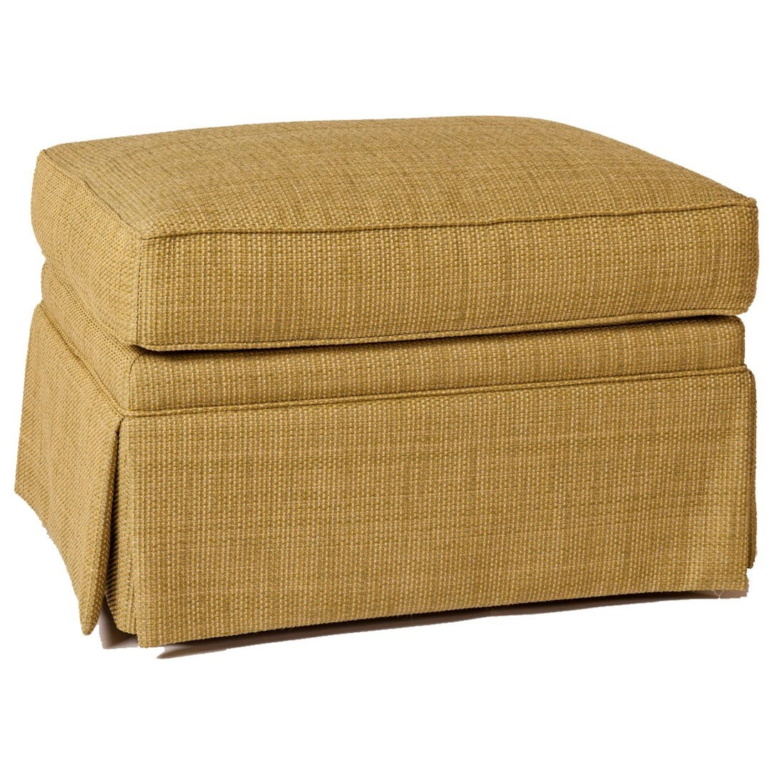 Personal Design Series <b>Customizable</b> McConnell Ottoman by Lexington at Johnny Janosik