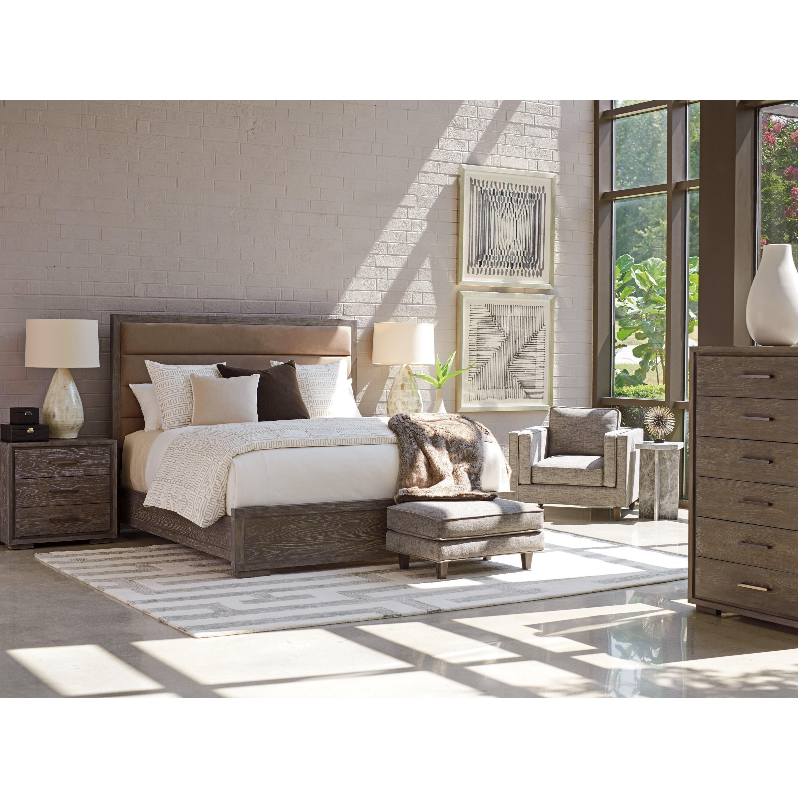 Santana California King Bedroom Group by Lexington at Johnny Janosik