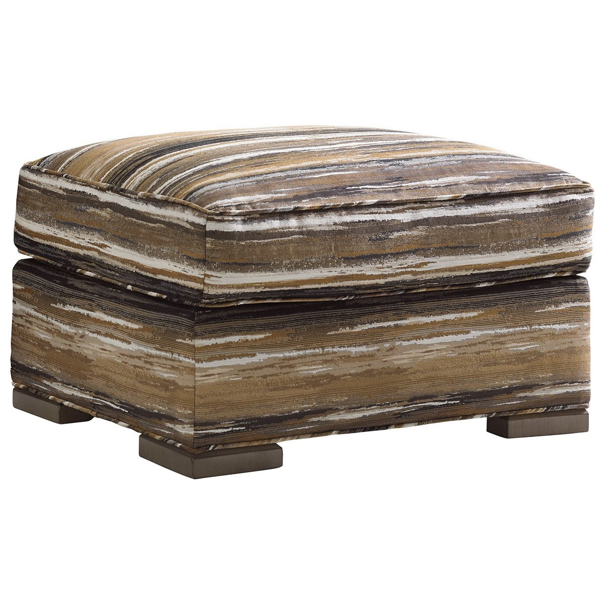 Shadow Play Delshire Ottoman by Lexington at Jacksonville Furniture Mart