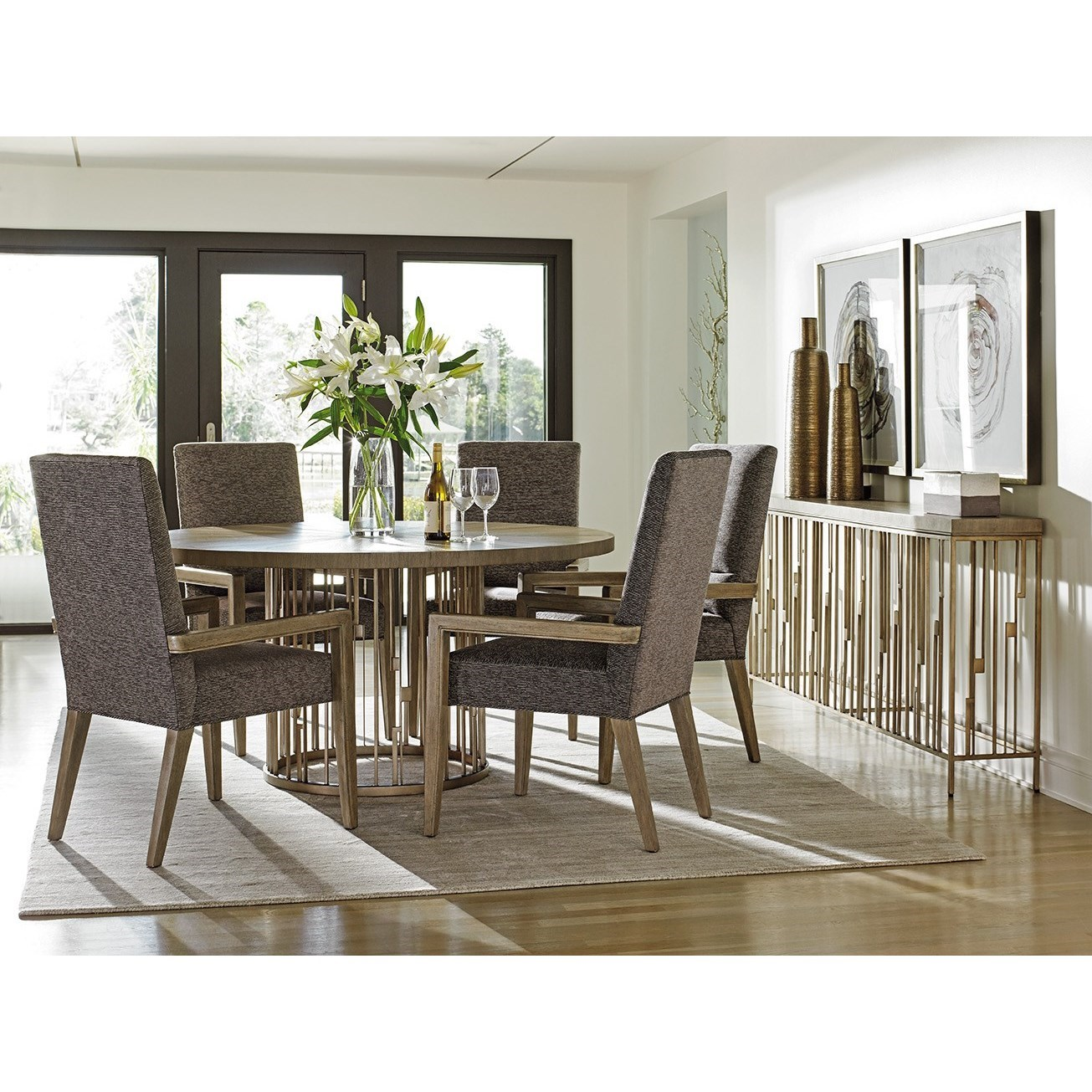 Shadow Play Dining Room Group by Lexington at Jacksonville Furniture Mart