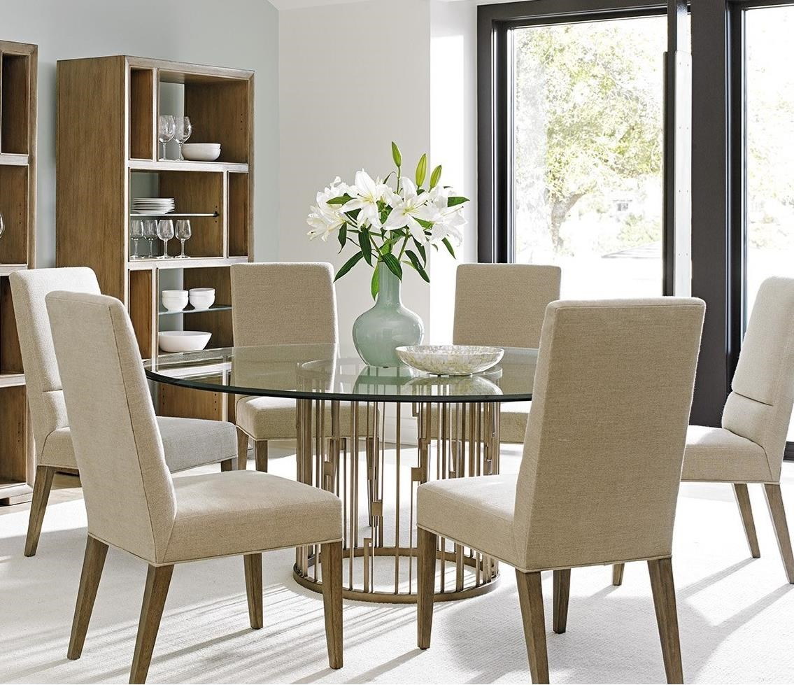 Shadow Play 7 Pc Dining Set by Lexington at Stuckey Furniture