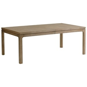 Concorde Rectangular Dining Table with Extension Leaves
