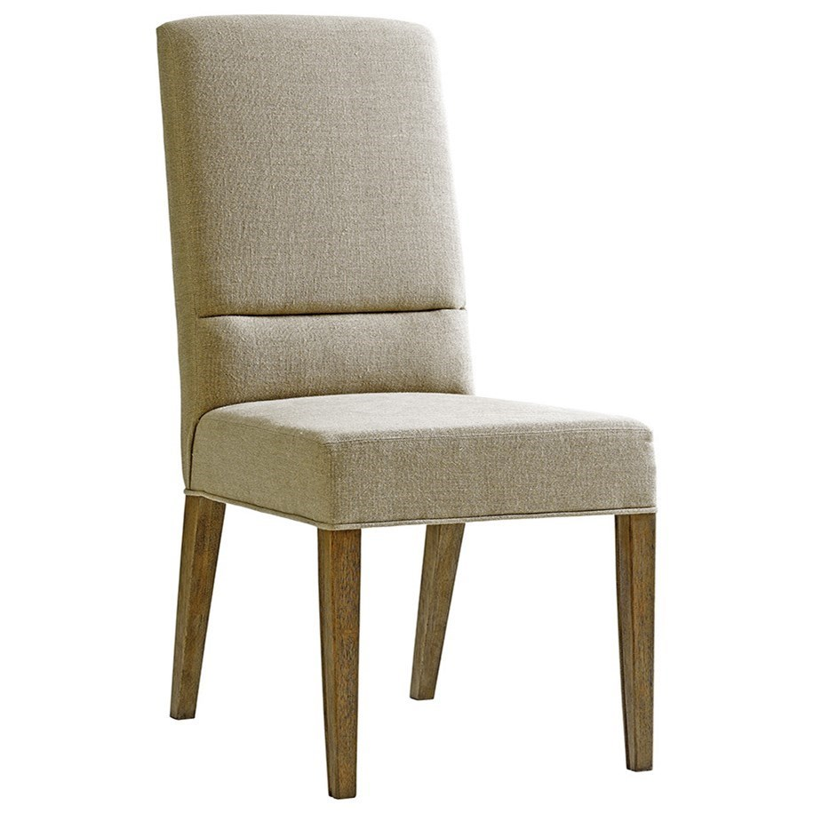 Shadow Play Metro Side Chair in Married Fabric by Lexington at Baer's Furniture