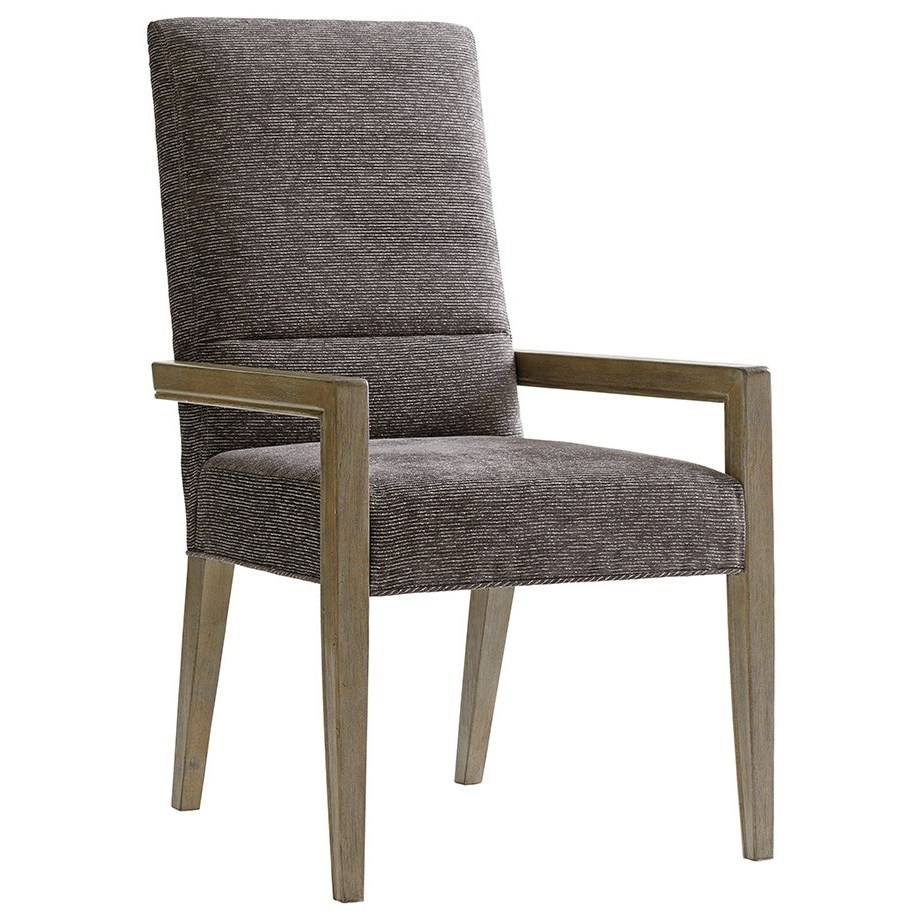 Shadow Play Customizable Metro Arm Chair by Lexington at Jacksonville Furniture Mart