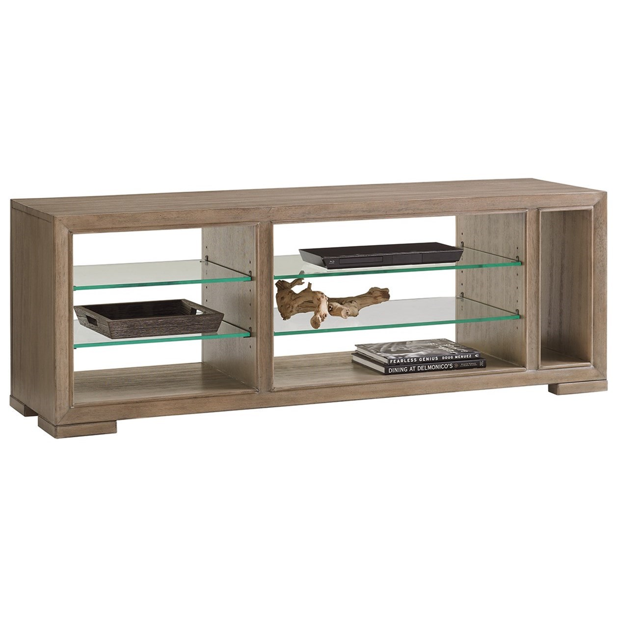 Shadow Play Spotlight Media Console by Lexington at Johnny Janosik