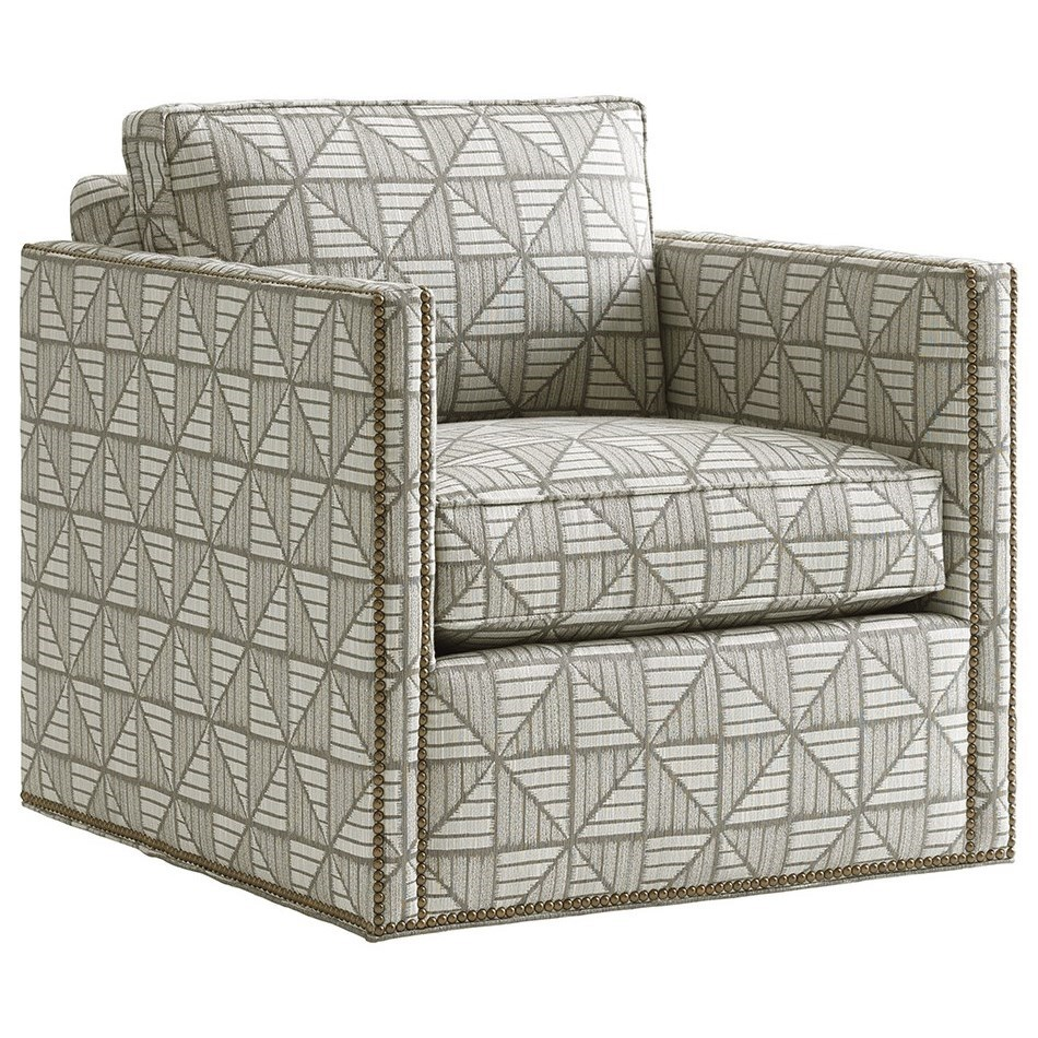 Shadow Play Hinsdale Swivel Chair by Lexington at Jacksonville Furniture Mart
