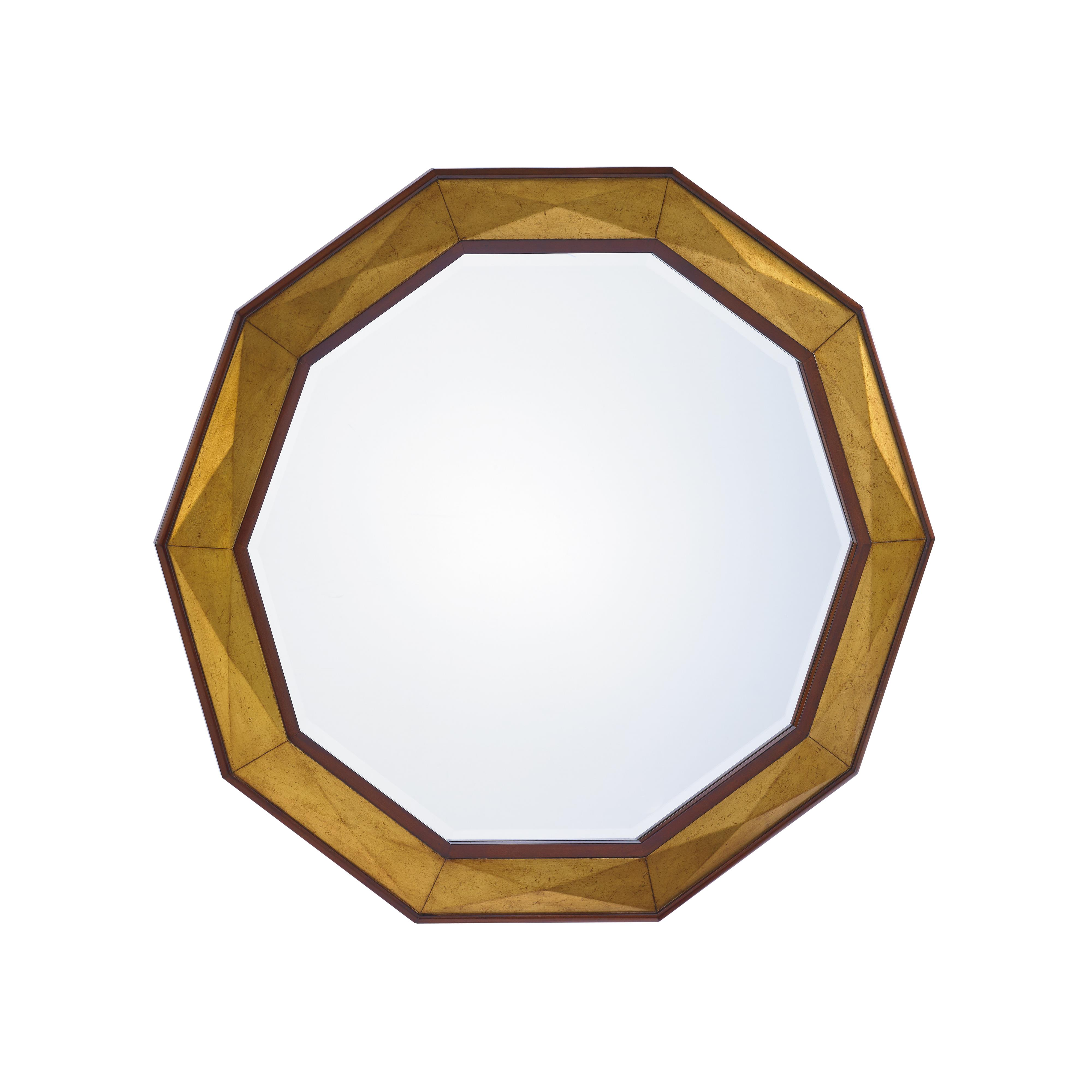 TAKE FIVE Savoy Round Mirror by Lexington at Johnny Janosik