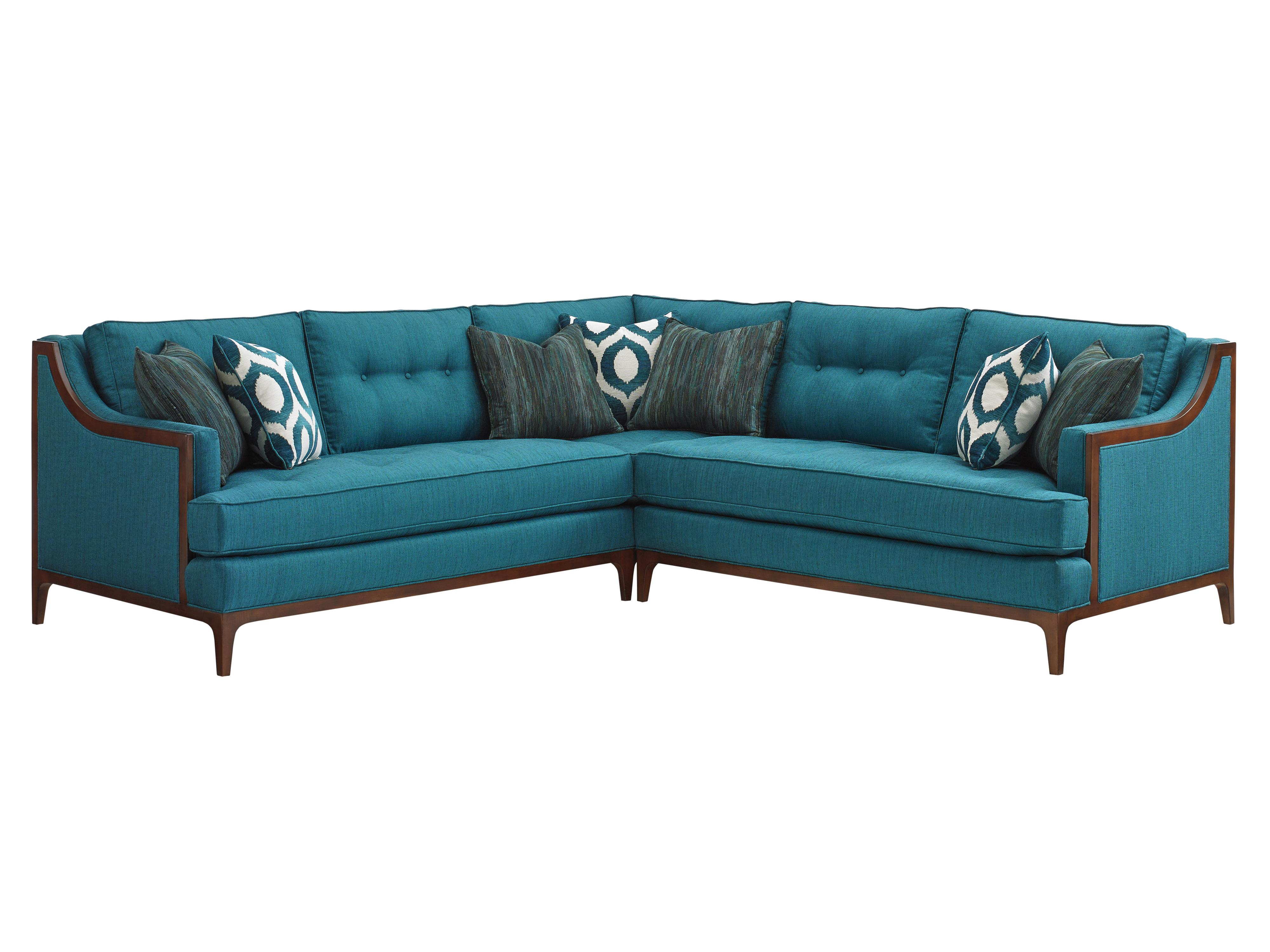 TAKE FIVE Barclay Sectional Sofa by Lexington at Jacksonville Furniture Mart