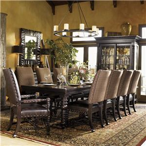 Tommy Bahama Home Kingstown Pembroke Dining Set