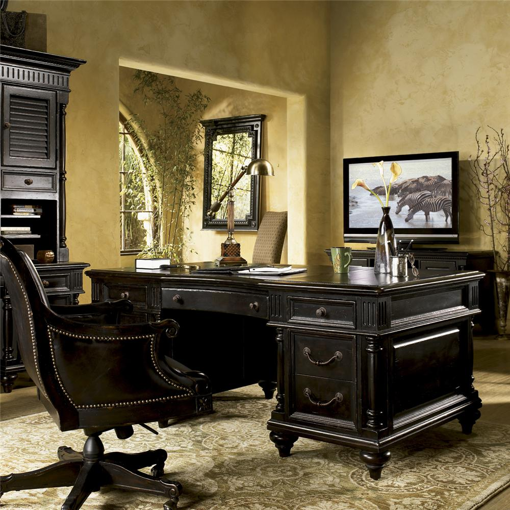 Kingstown Admiralty Executive Desk by Tommy Bahama Home at Baer's Furniture