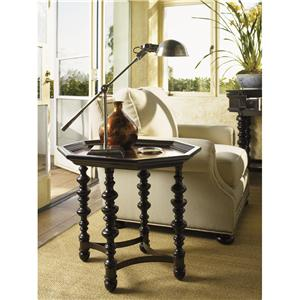 Octagon Plantation Accent Table