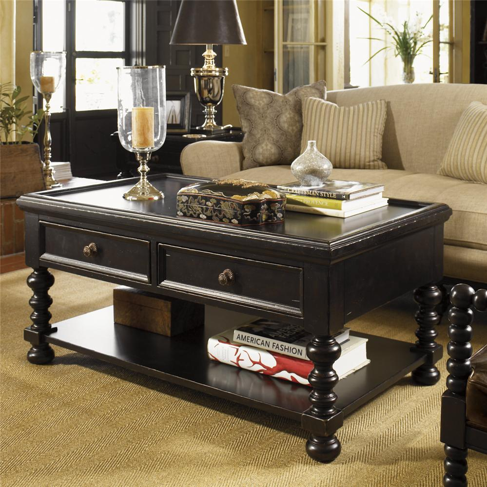 Kingstown Explorer Cocktail Table by Tommy Bahama Home at Baer's Furniture