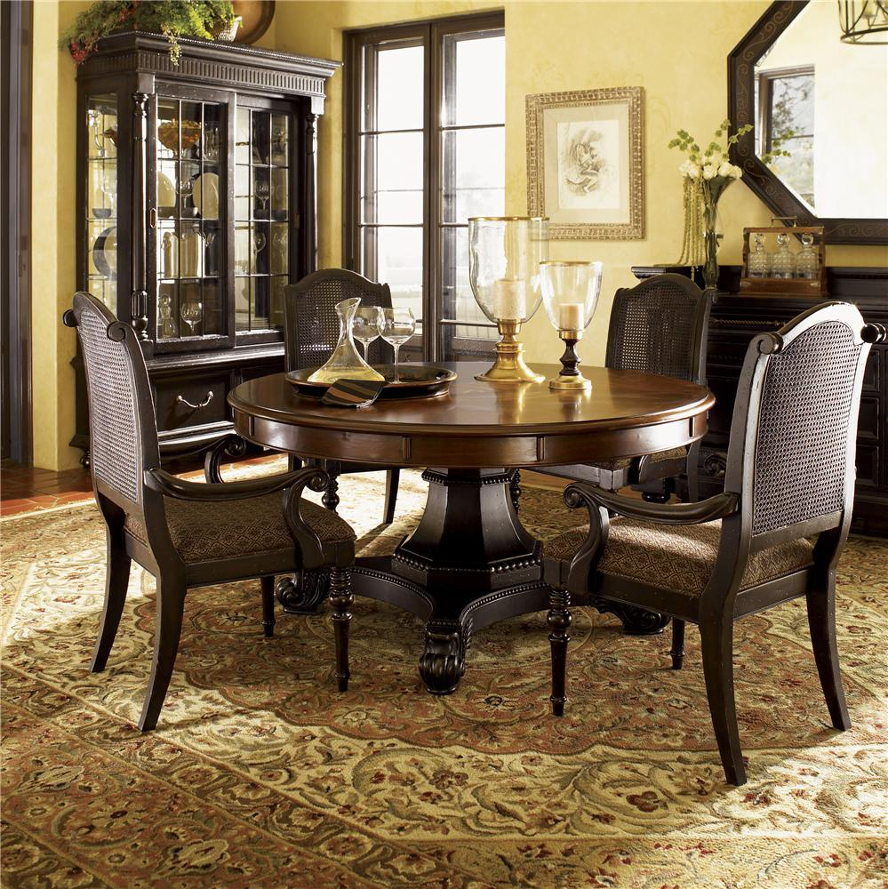 Kingstown Bonaire Round Dining Table by Tommy Bahama Home at Baer's Furniture