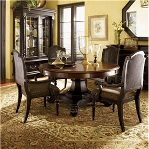 Tommy Bahama Home Kingstown Bonaire Round Dining Table