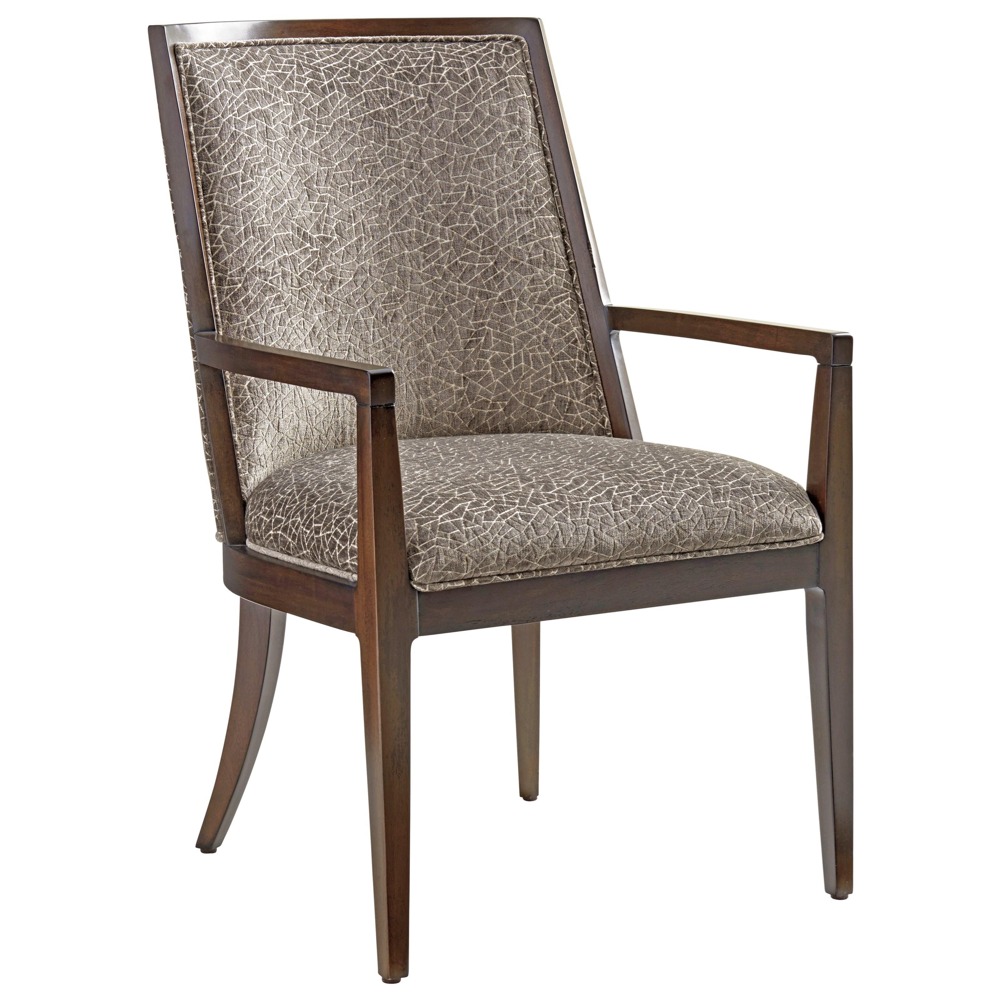 Zavala Ellipsis Upholstered Arm Chair (Custom) by Lexington at Johnny Janosik