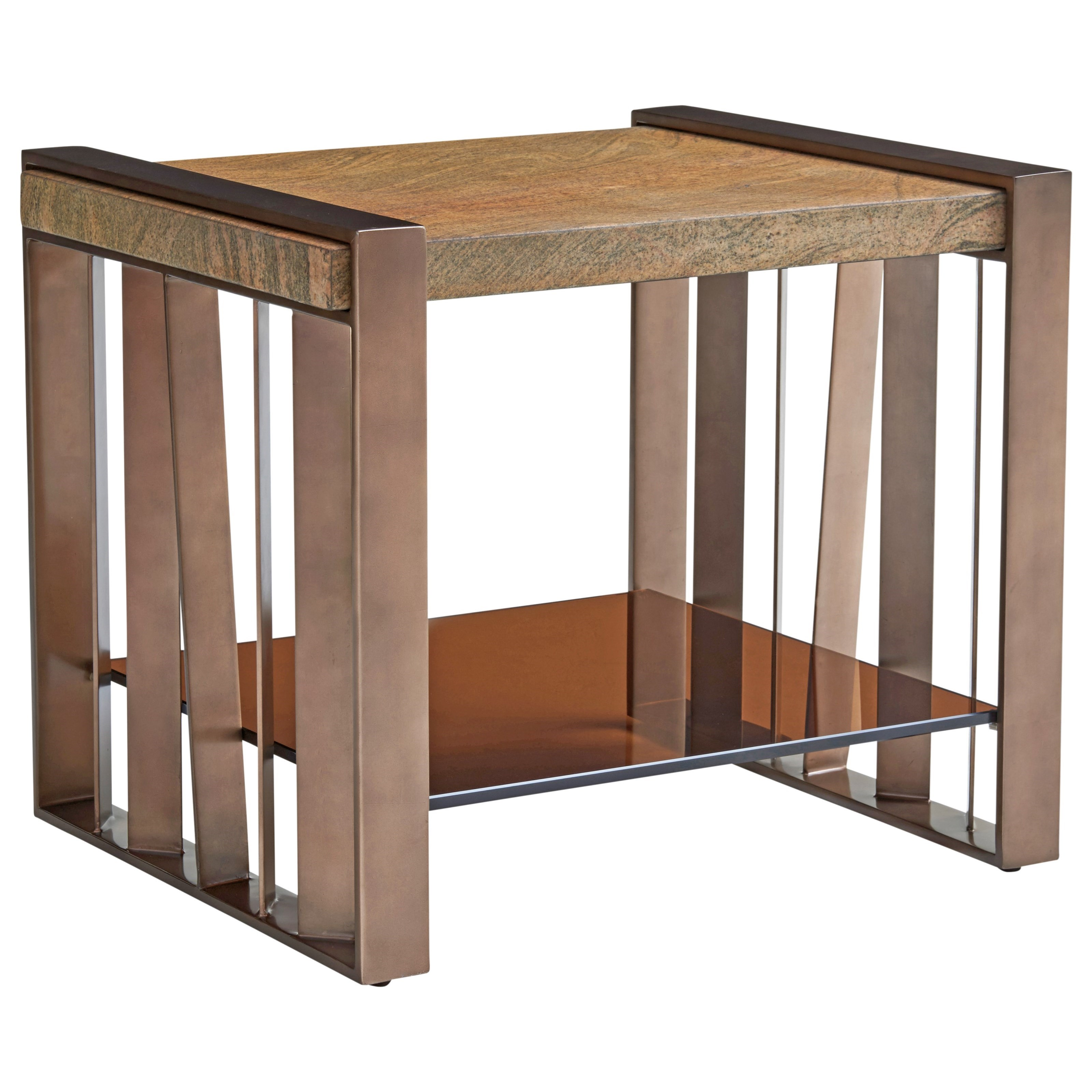 Zavala Intersect End Table by Lexington at Johnny Janosik