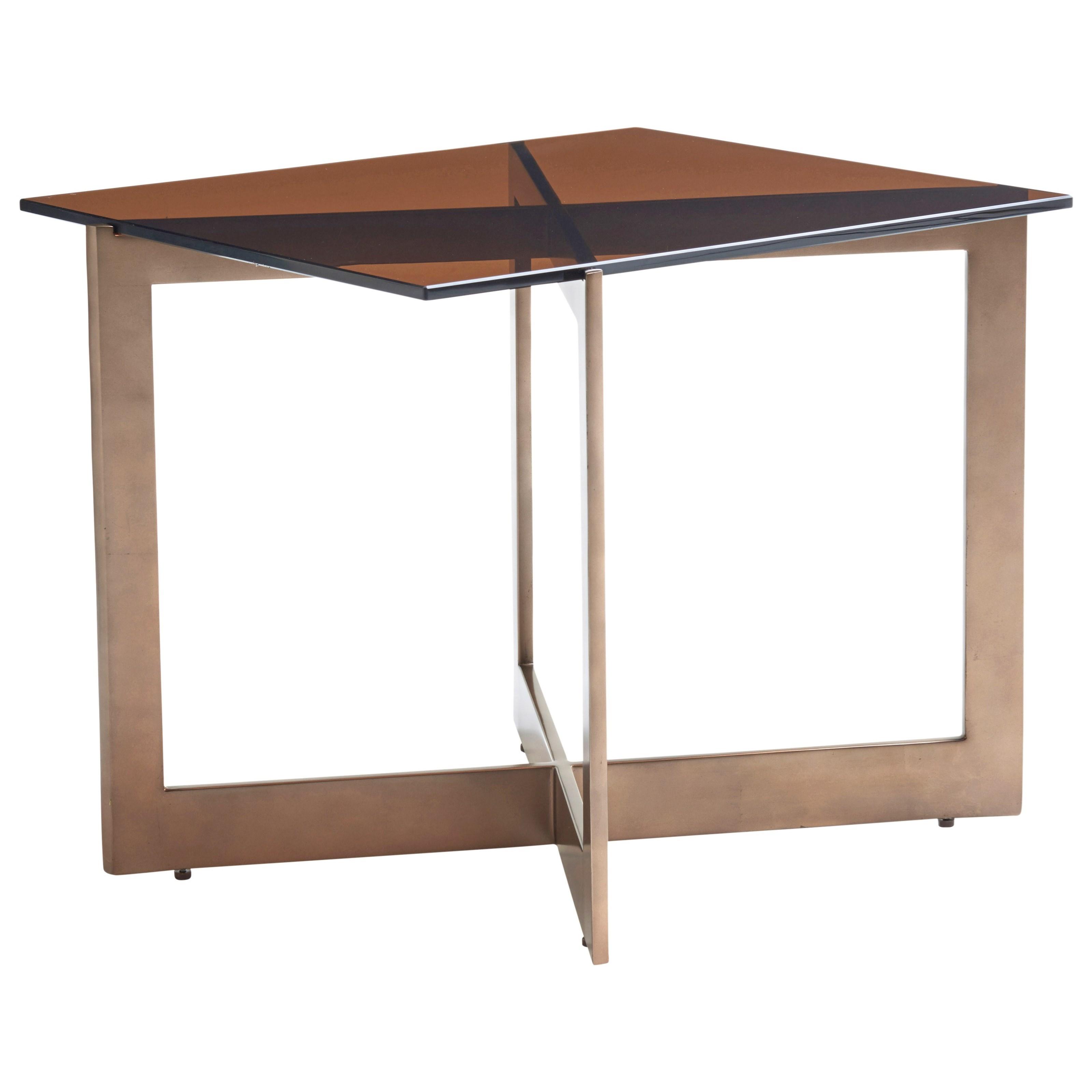 Zavala Apeture End Table by Lexington at Johnny Janosik