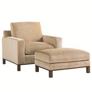 Lexington 11 South Chronicle Chair & Ottoman