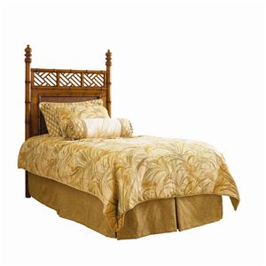 Twin-Size Woven West Indies Headboard
