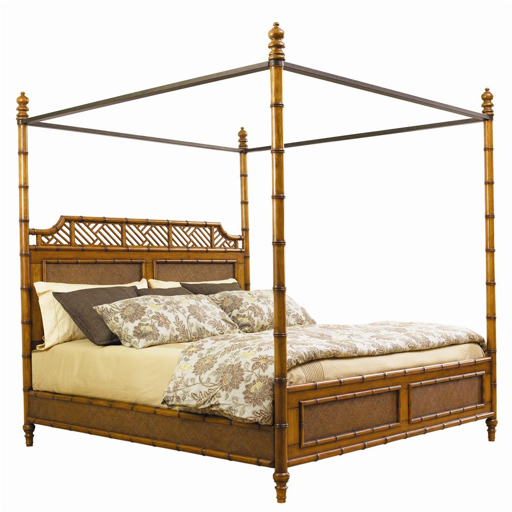 Island Estate Queen West Indies Bed by Tommy Bahama Home at Baer's Furniture