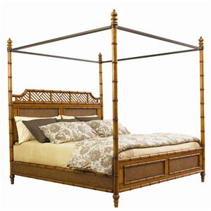 California King-Size West Indies Canopy Bed
