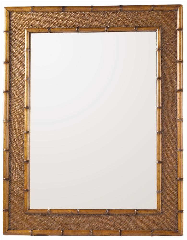 Island Estate Palm Grove Mirror by Tommy Bahama Home at Baer's Furniture