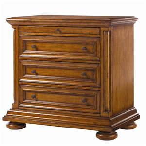 Martinique Night Stand with Pullout Shelf