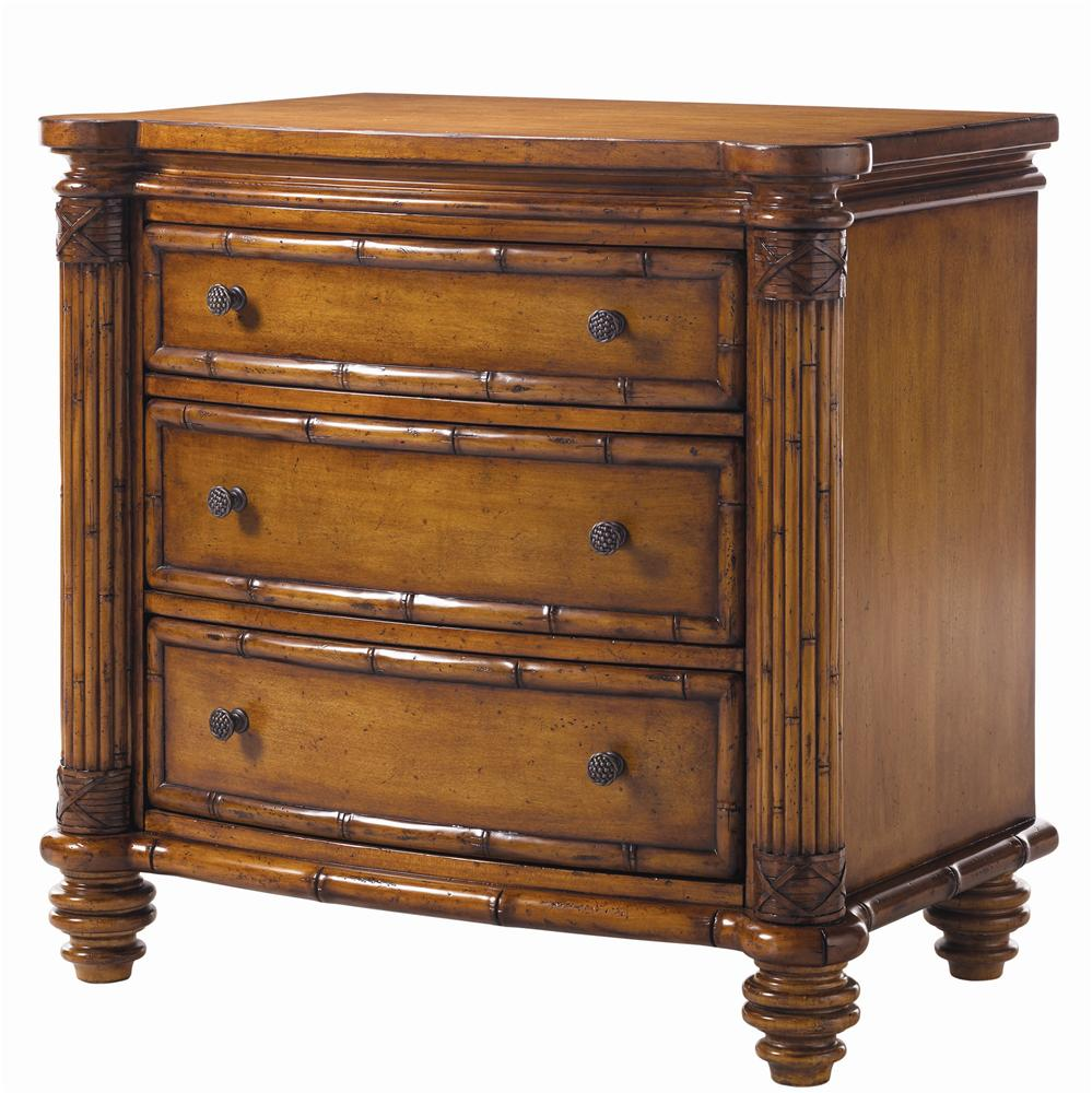 Island Estate Barbados Night Stand by Tommy Bahama Home at Baer's Furniture