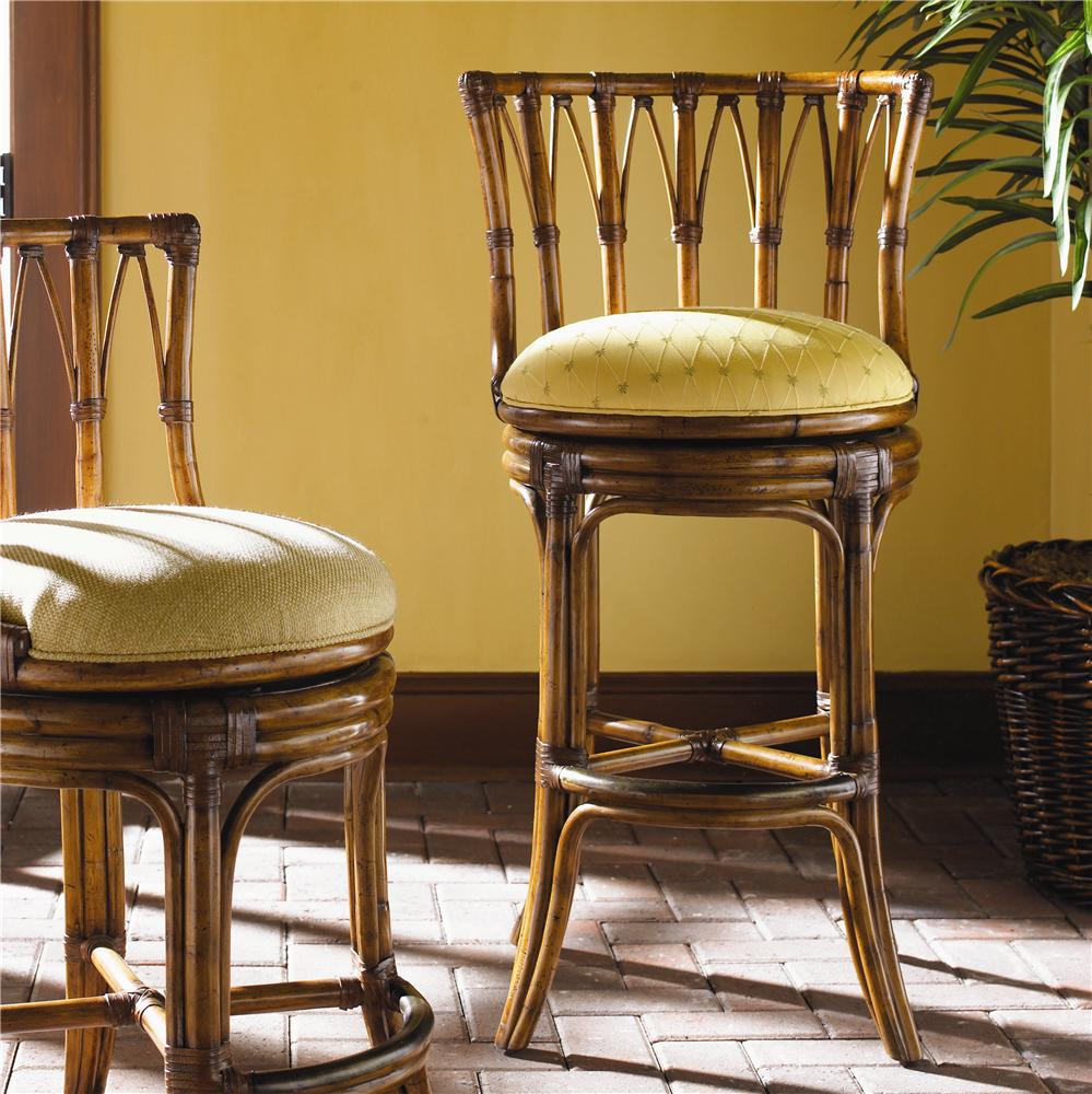 Island Estate South Beach Swivel Bar Stool by Tommy Bahama Home at Baer's Furniture