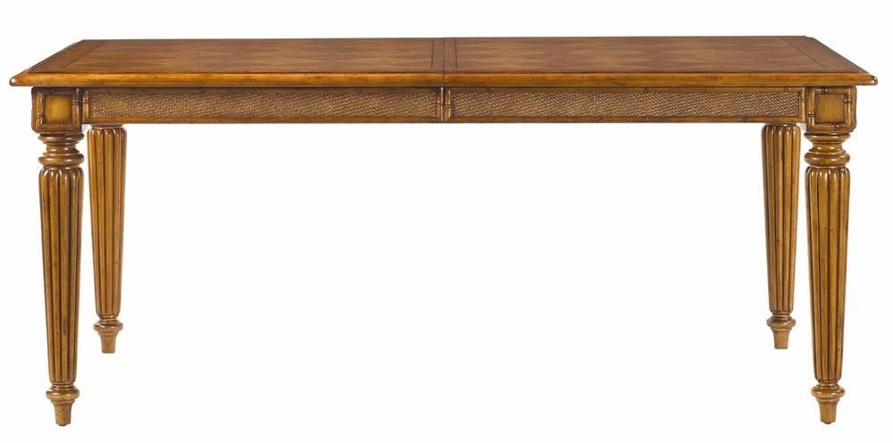 Island Estate Grenadine Rectangular Dining Table by Tommy Bahama Home at Baer's Furniture