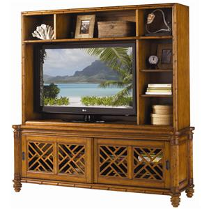 Tommy Bahama Home Island Estate Nevis Media Console & Hutch