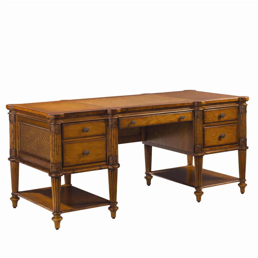 Island Estate Fraser Island Desk by Tommy Bahama Home at Baer's Furniture