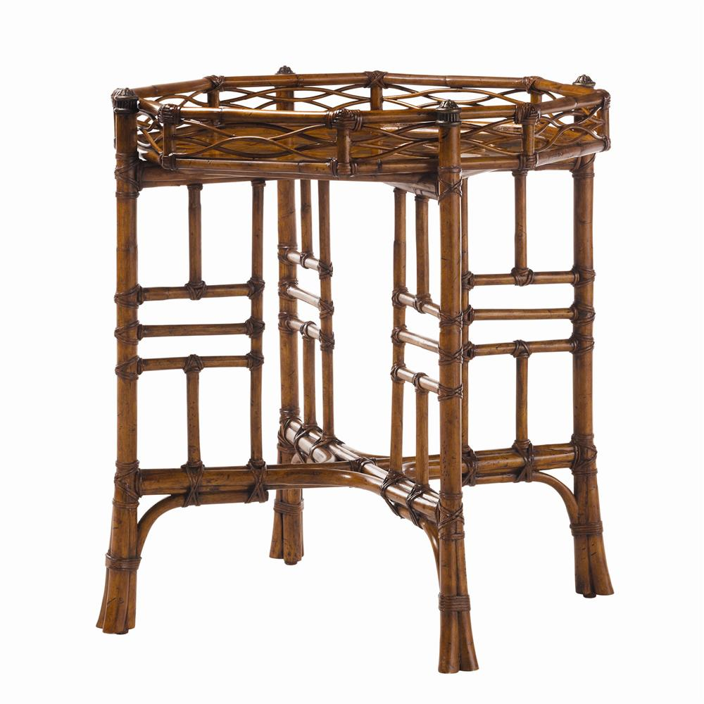Island Estate Key Largo End Table by Tommy Bahama Home at Baer's Furniture