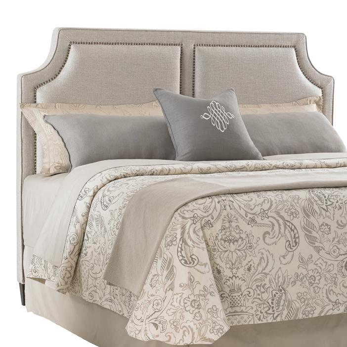 Kensington Place Queen Chadwick Upholstered Headboard by Lexington at Johnny Janosik