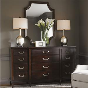 Lexington Kensington Place Baldwin Dresser and Catalina Mirror Set
