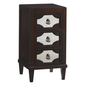 Lexington Kensington Place Lucerne Mirrored Nightstand