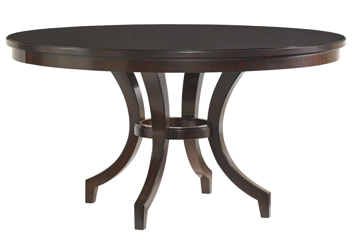 Kensington Place Beverly Glen Round Dining Table by Lexington at Baer's Furniture