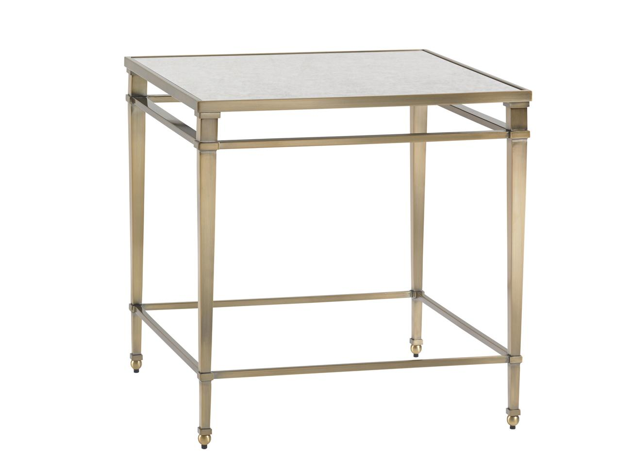 Kensington Place Maxfield Metal Lamp Table by Lexington at Johnny Janosik