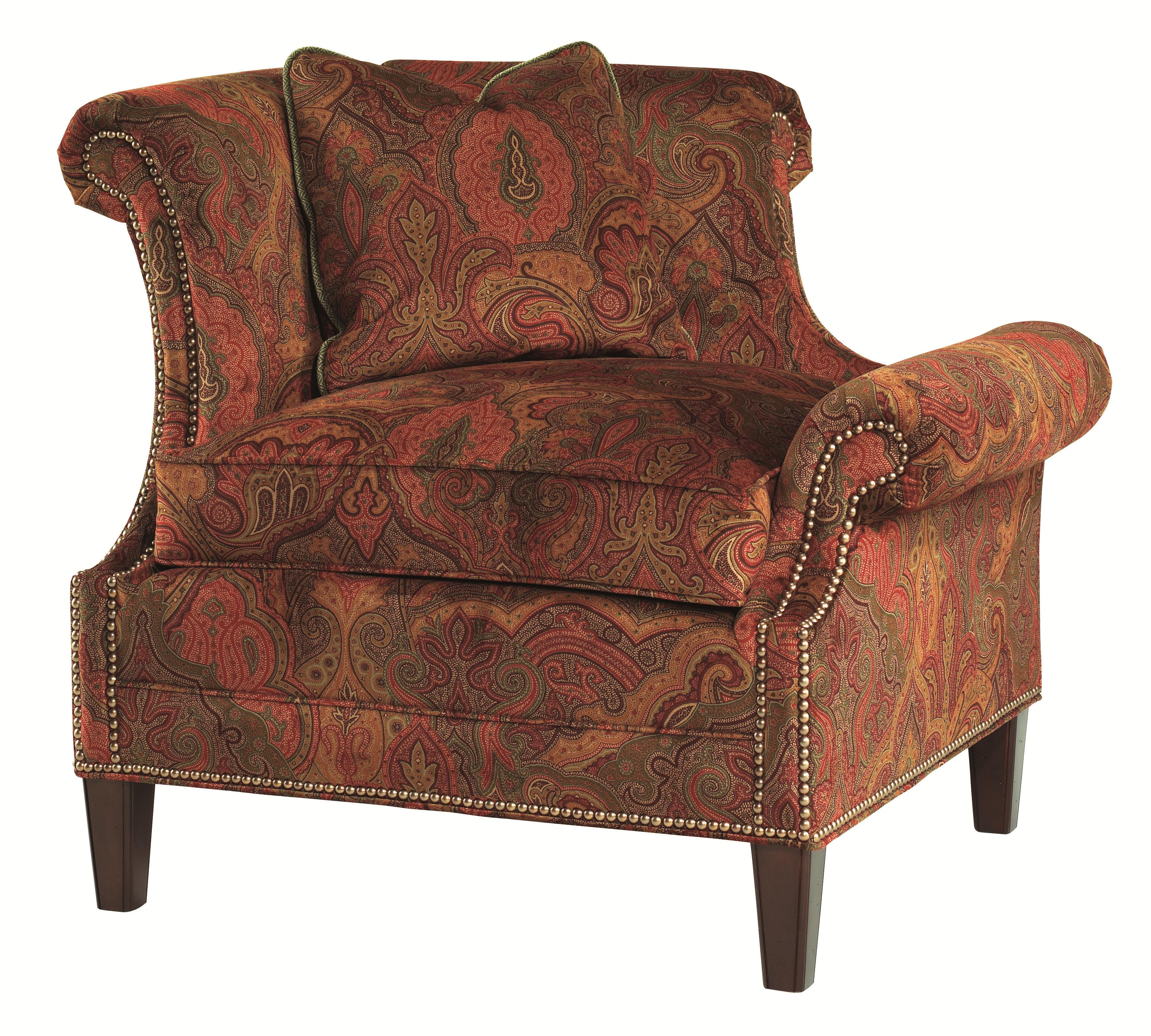 Lexington Upholstery Braddock Laf Upholstered Chair by Lexington at Johnny Janosik