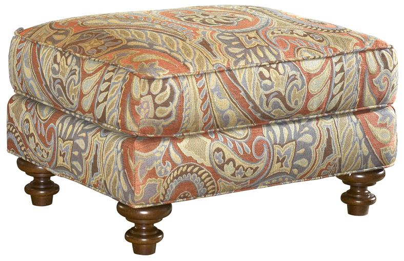 Lexington Upholstery Traditional Styled Elton Accent Ottoman by Lexington at Jacksonville Furniture Mart