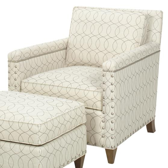 Upholstery Chase Chair by Lexington at Baer's Furniture
