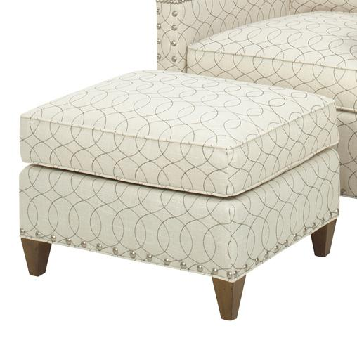 Upholstery Chase Ottoman by Lexington at Baer's Furniture
