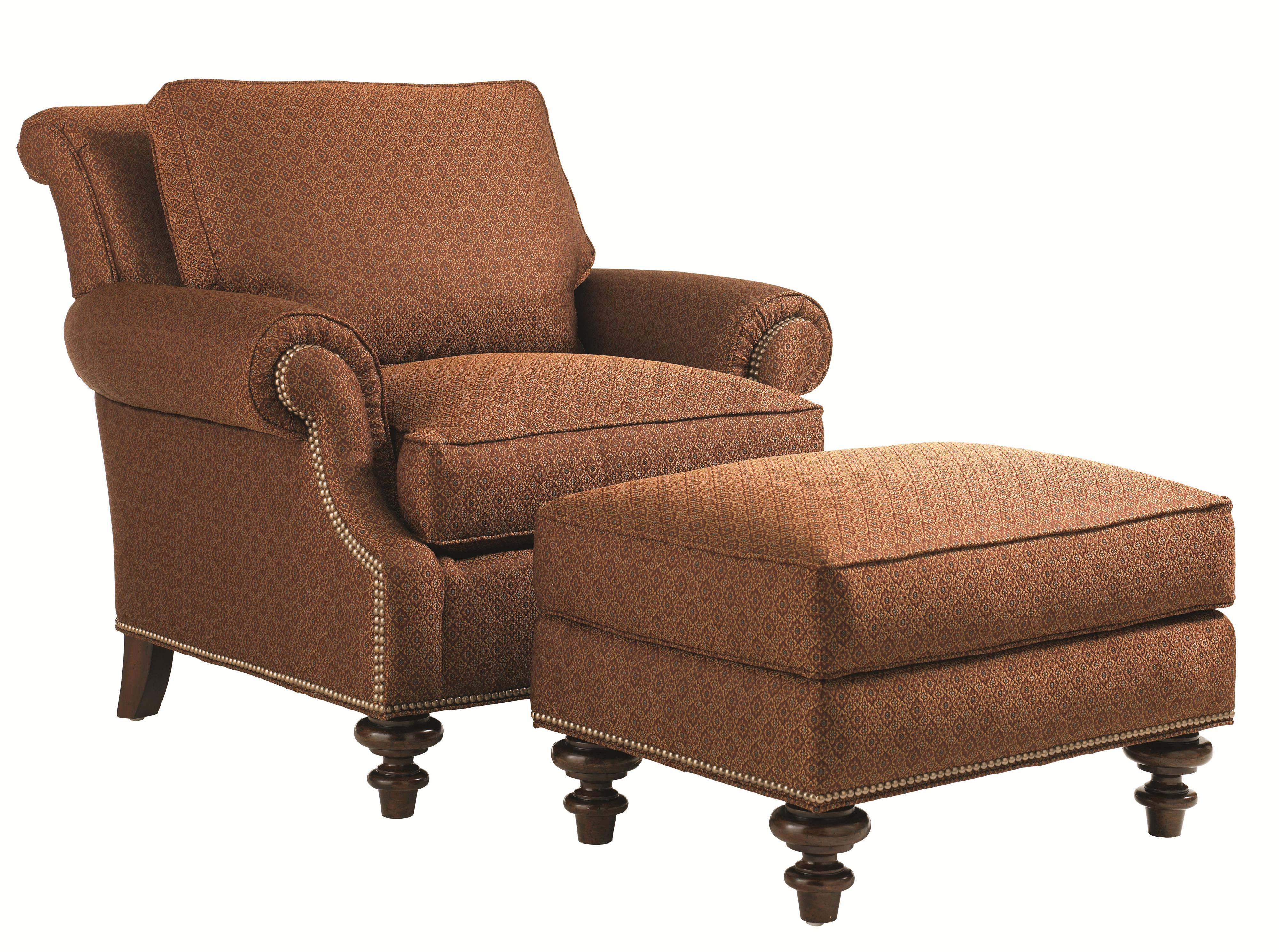 Lexington Upholstery Darby Chair and Ottoman by Lexington at Johnny Janosik