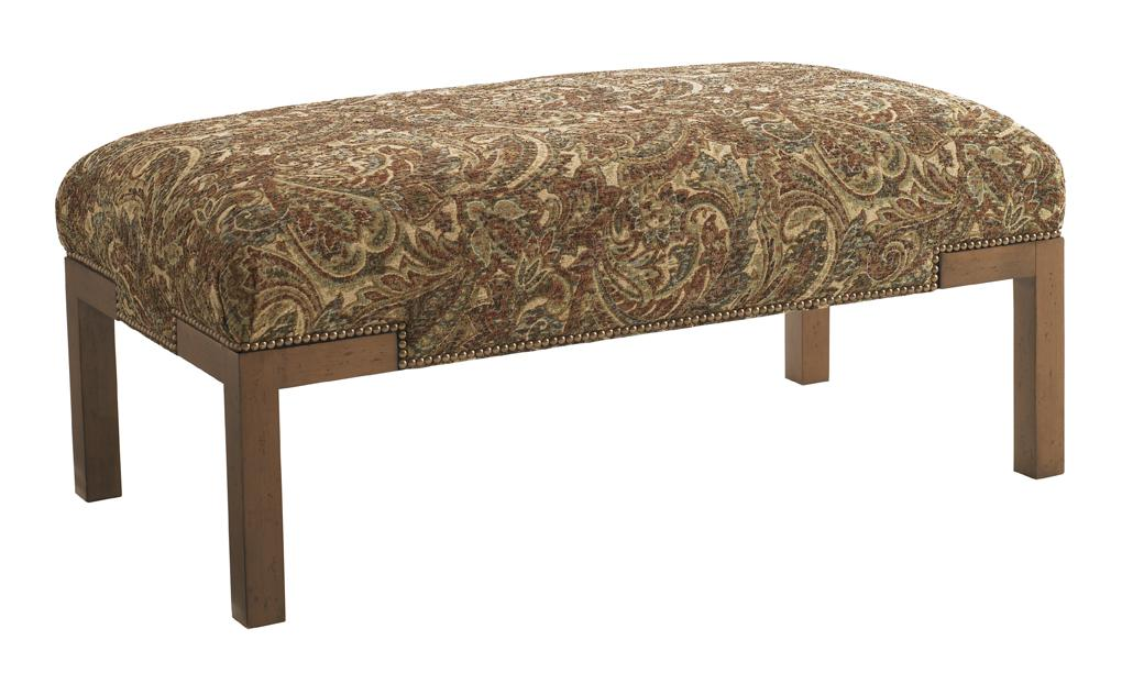 Upholstery Norfolk Cocktail Ottoman by Lexington at Baer's Furniture