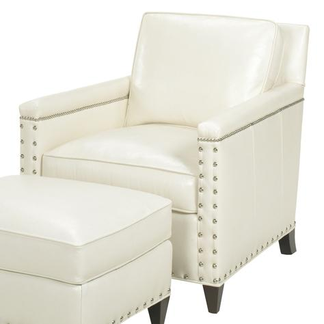 Leather Chase Chair by Lexington at Baer's Furniture