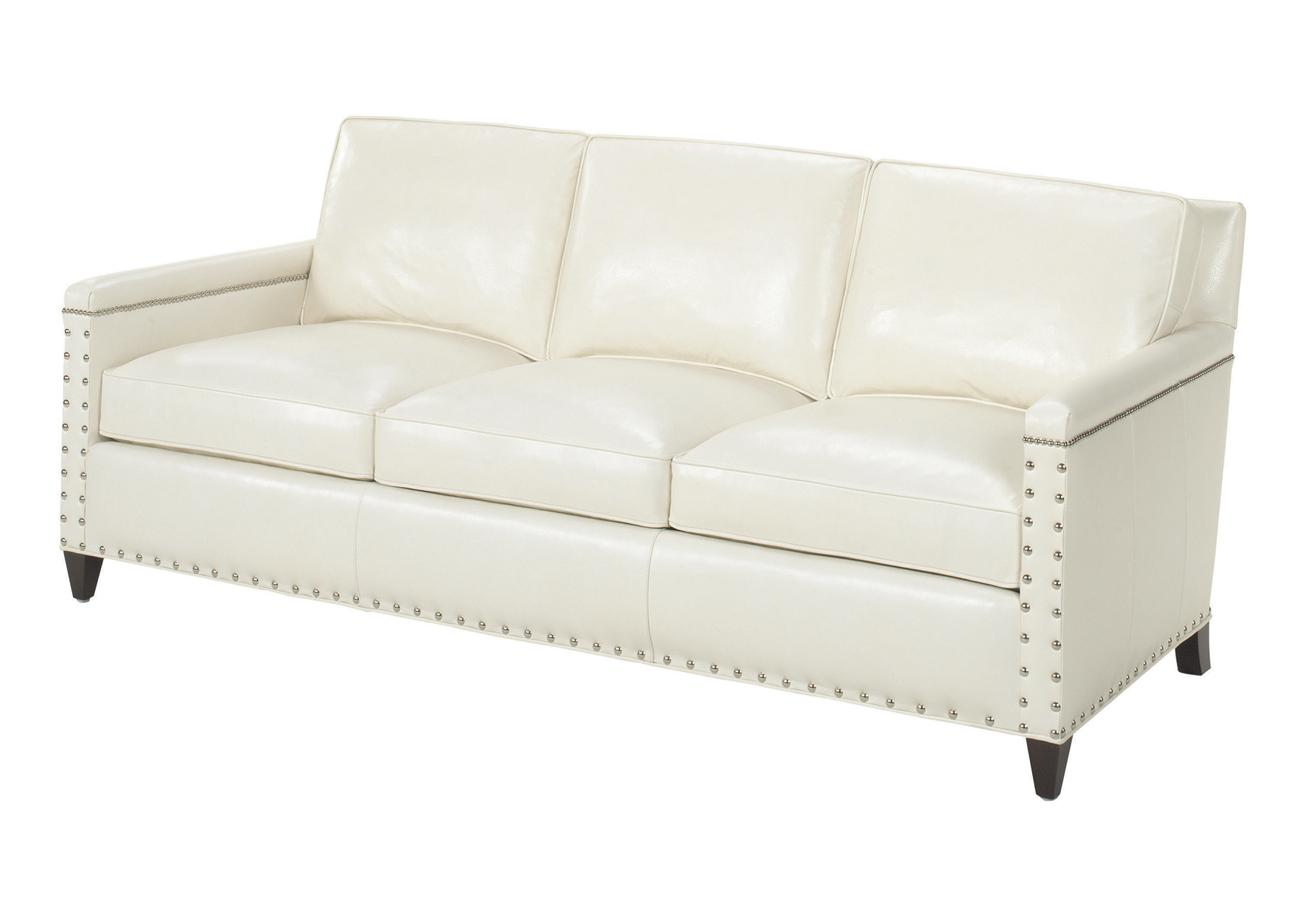 Leather Chase Sofa by Lexington at Baer's Furniture